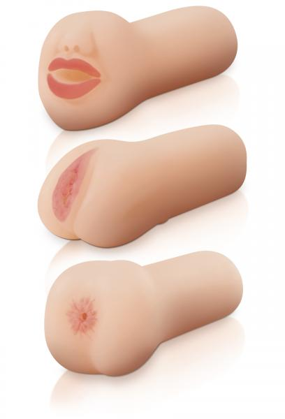 Travel Trio Masturbator Set Sex Toy Product