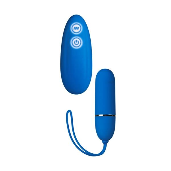 7 Function Lovers Remote - Blue Sex Toy Product
