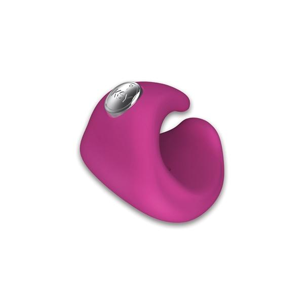 Pyxis Silicone Rechargeable Finger Massager Waterproof - Pink	 Sex Toy Product