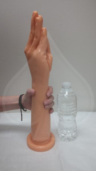 Intruder Arm With Hand Probe - Beige Sex Toy Product