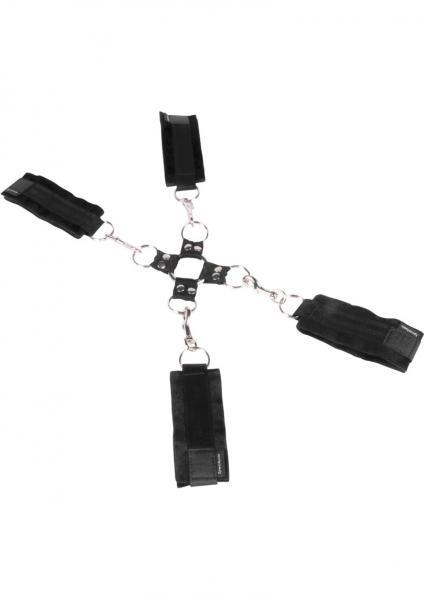 5 Piece Hog Tie and Cuff Set Sex Toy Product