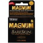 Trojan Magnum Bareskin 3 Pack Large Size Condoms Sex Toy Product