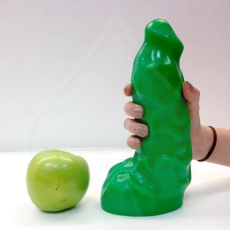 Big green dildo