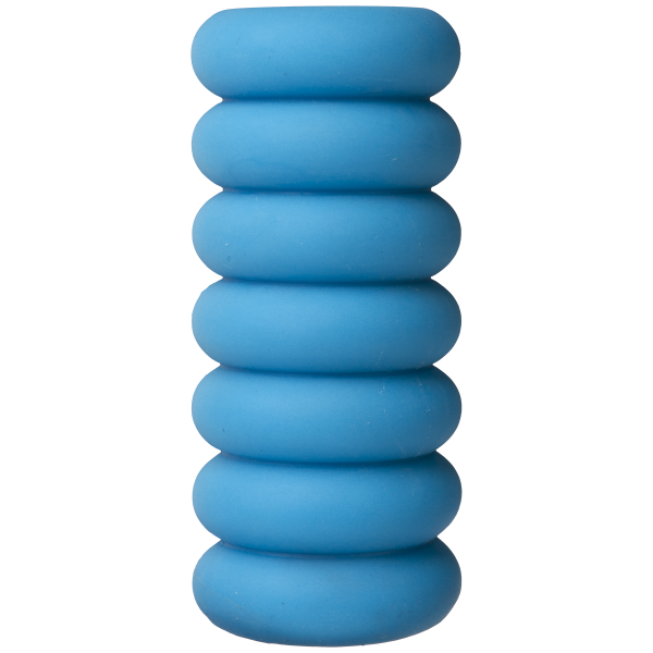 Mood Thrill Triple Texture Blue Stroker Sex Toy Product