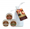 Earthly Body Holiday Trio 3 2oz Candles