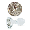 Crystal Delights Short Stem-Small Bulb Plug with Clear Swarovski Element