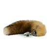 Crystal Minx Canadian Red Fox Tail Plug