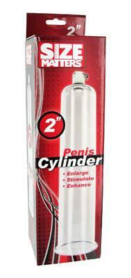 Penis Pump Cylinder 2 Inches by 9 Inches