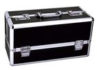 Lockable Vibrator Case Large Black Sex Toy Product