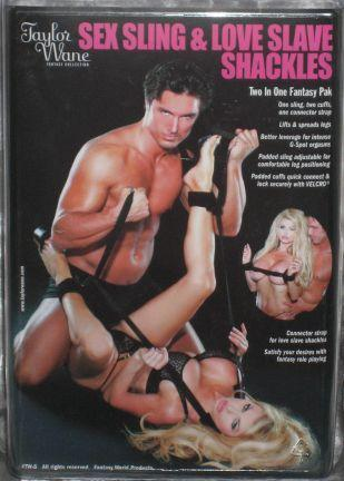 Taylor Wane Sex Sling And Shackles Sex Toy Product