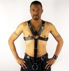 X-Harness with Cock Ring Attachment