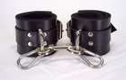 Lined Leather Ankle Cuffs
