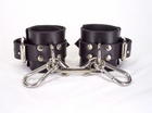 Leather Unlined Wrist Cuffs Sex Toy Product