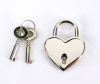Heart shaped Lock w/ keys Sex Toy Product Image 1