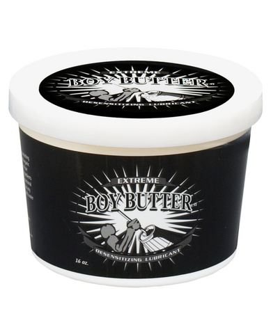 Boy Butter Extreme Desensitizing 16 oz Tub