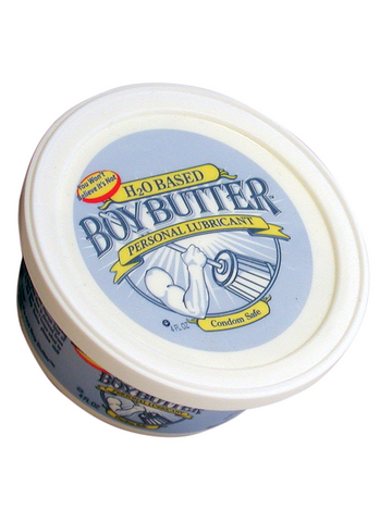 H20 Boy Butter 4 oz Tub (H20 Based)