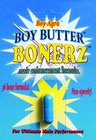 Boy Butter Bonerz with Boy-Agra All Natural Male Enhancement 36-hour