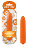 Pop Vibe-7 Speed Waterpoof Bullet with Smooth Satin Feel-Orange