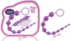 Sassy Anal Beads with Retrieval Cord - purple