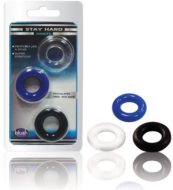 Hygienically Superior Elastomer Donut Rings- 9 piece value deal