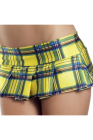 Be Wicked Plaid Pleated School Girl Mini Skirt Small/Medium