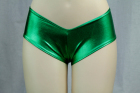 Flashy Boyshort Green Medium/Large