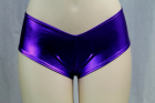 Flashy Boyshort Purple Medium/Large