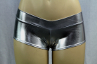 Shiny Mini Boyshorts Platinum Small/Medium