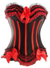 Red Ribbon Corset Extra Large