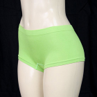 Solid Mini Boyshort Neon Green