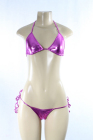 Shiny Sparkly Bra/Panty Set Fushia