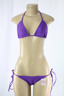 Lycra Bra/Panty Set Purple