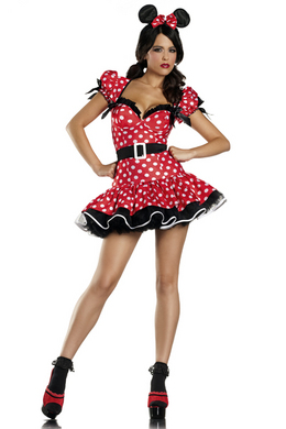 Be Wicked Flirty Mouse Small/Medium