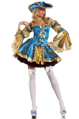Be Wicked Royal Antoinette Small/Medium