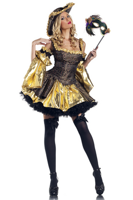 Be Wicked Black Antoinette Medium/Large