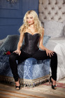 Be Wicked Sequined Corset 32