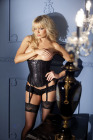 Be Wicked Sequined Corset Small