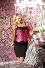 Be Wicked Corset Fushia 36