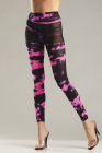 Be Wicked Tie Dye Footless Tights