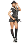 Be Wicked Mafia Mistress Small/Medium