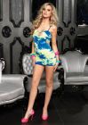 Seamless Tie Dye Mini Dress One Size