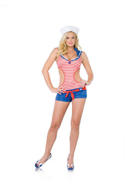 2 PC. Vintage Sailor Small/Medium