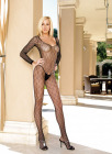 Lycra Honeycomb Bodystocking One Size