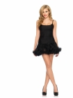 Petticoat Dress Black Medium/Large