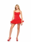 Petticoat Dress Red Small/Medium