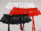 Rubii Ribboned Panty with Garter Belt Red Large/Extra Large
