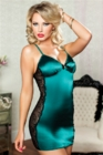Seven Til Midnight Behind Simply Stunning Chemise & Thong Medium