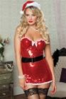 Seven Til Midnight Naughty And Nice 4 Piece Dress (Packaged) Small/Medium