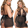 Extravaganza Babydoll & Thong By Seven Till Midnight