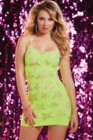 Seven Til Midnight Seamless Dress W/Star Shaped (Packaged) One Size
